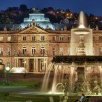 Brunnen am neuen Schloss Stuttgart © World travel images - Fotolia.com